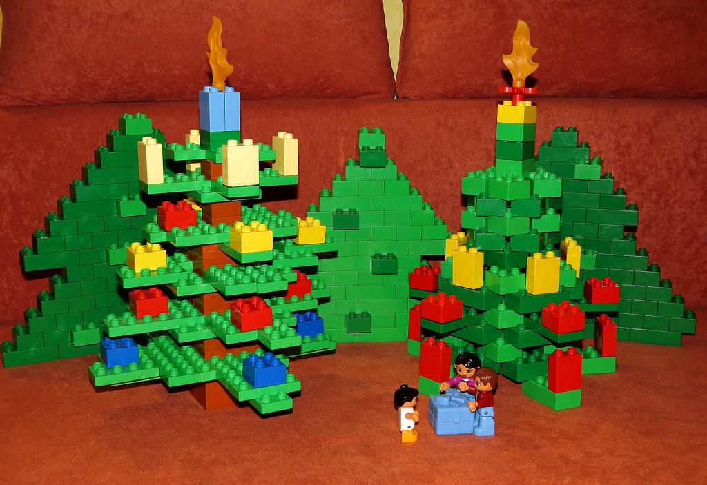 lego duplo weihnachtsbaum christmas tree o o o. Black Bedroom Furniture Sets. Home Design Ideas