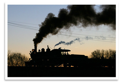 sunset silhouette train tn knoxville locomotive steamengine excursion khr threeriversrambler wl203 washingtonlinconlton