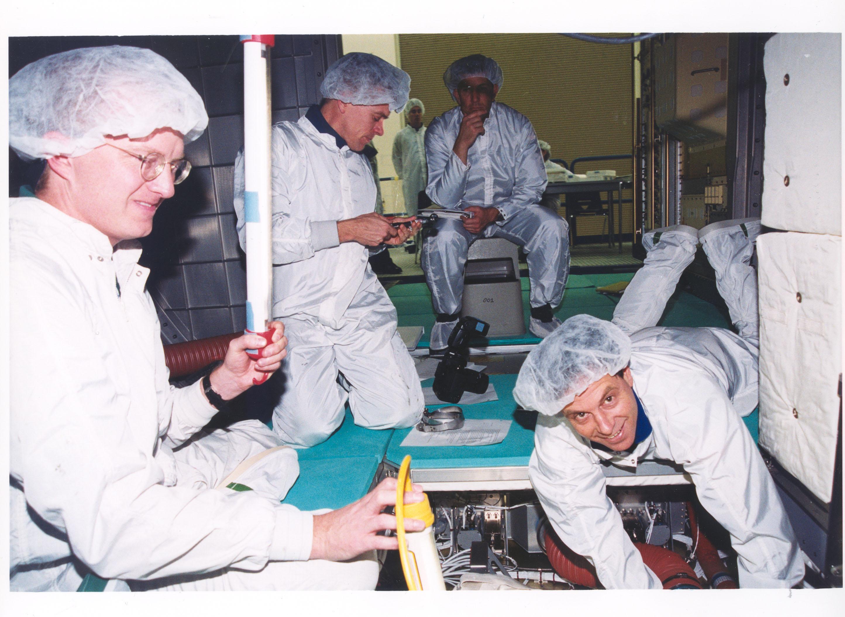 STS-107 In-Flight Maintenance Training