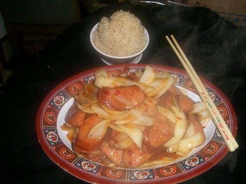 B28 Peking Sausage with Onions | by Golden Gate Chinese Restaurant