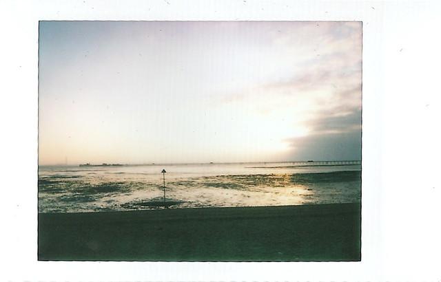 ix - southend beach at sunset
