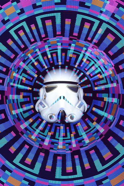 Psychedelic side of the force.