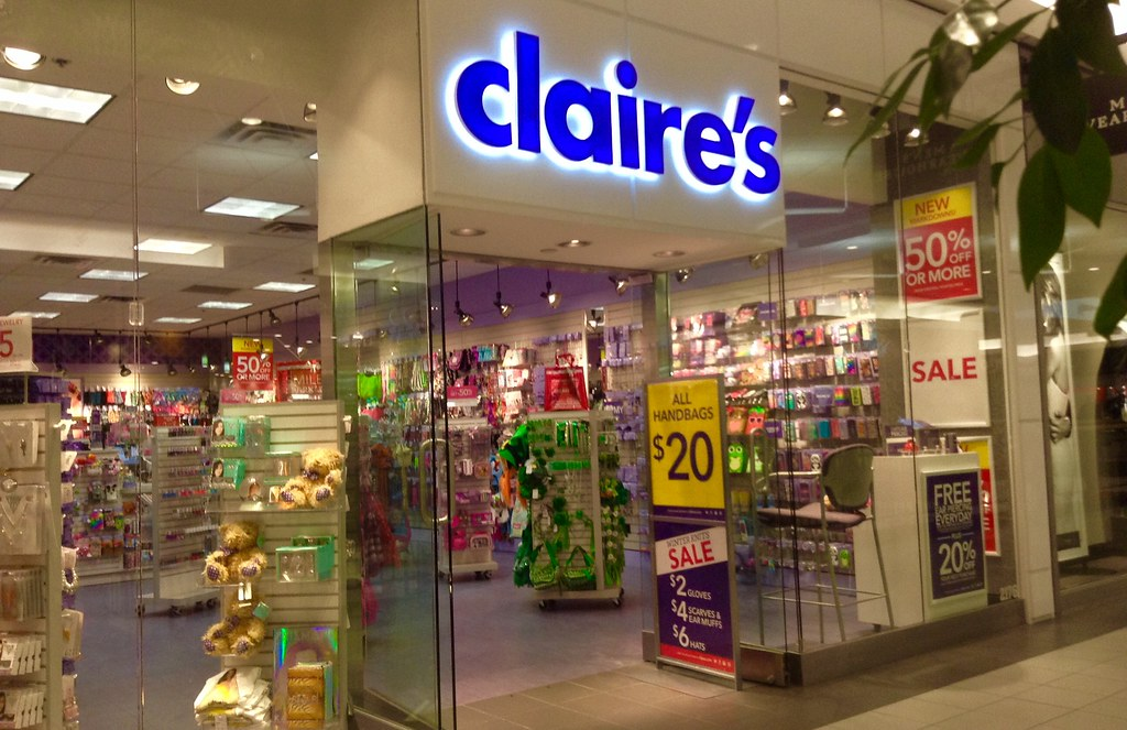 Claire's Store | Claire's Store, Waterbury, CT. 1/2015, by ...