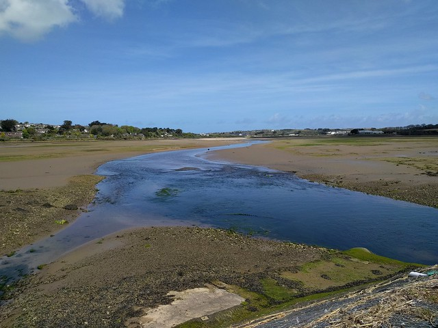 Crossing the River Hayle #SWCP #sh