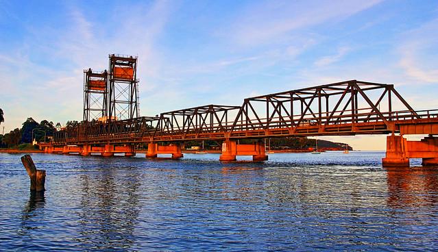 Batemans Bay - Bridge in Late Afternoon