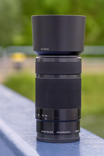 SONY E 55~210mm ƒ/4.5~6.3 OSS (SEL55210)