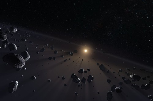 Kuiper Belt's ice cores | by European Southern Observatory