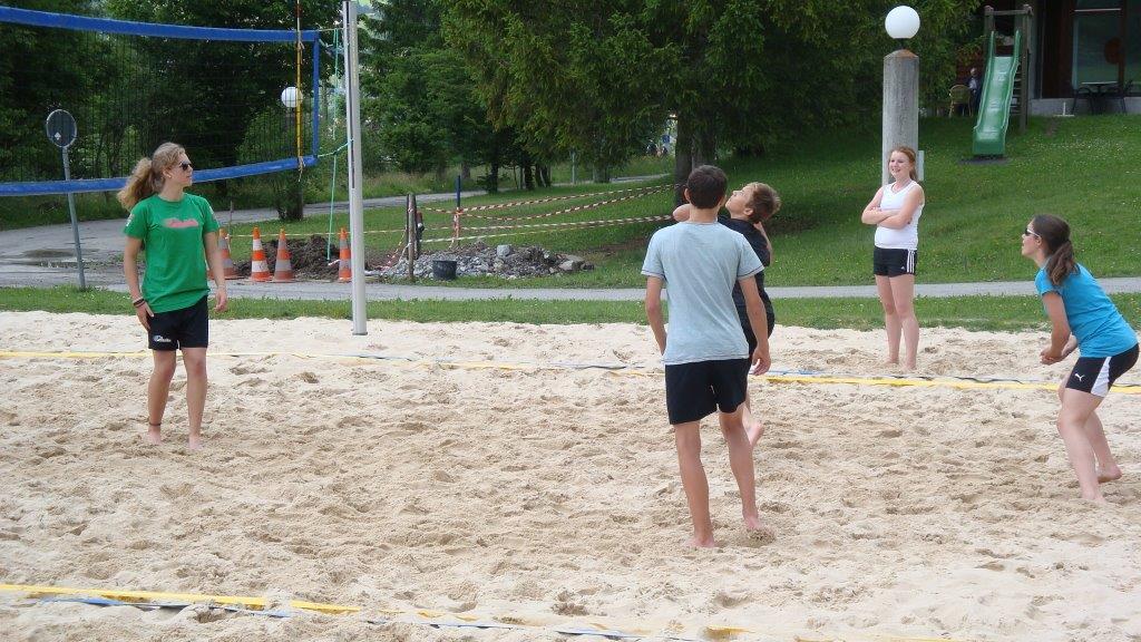 Beach Schülerturnier 2015 - Lenk