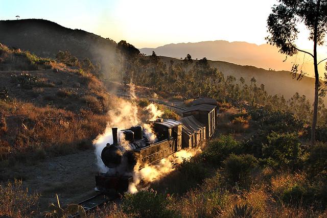Eritrean steam sunrise