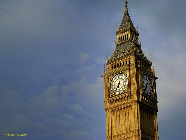 UK - England - London - Big ben tower