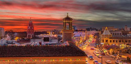 architecture zeiss christmaslights kansascity missouri holidaylights countryclubplaza ze plazalights otus1455mm