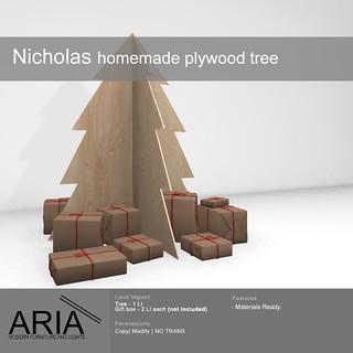 Nicholas plywood tree