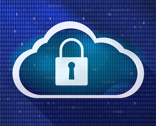 Secure Cloud - Data Security - Cyber Security | by perspec_photo88