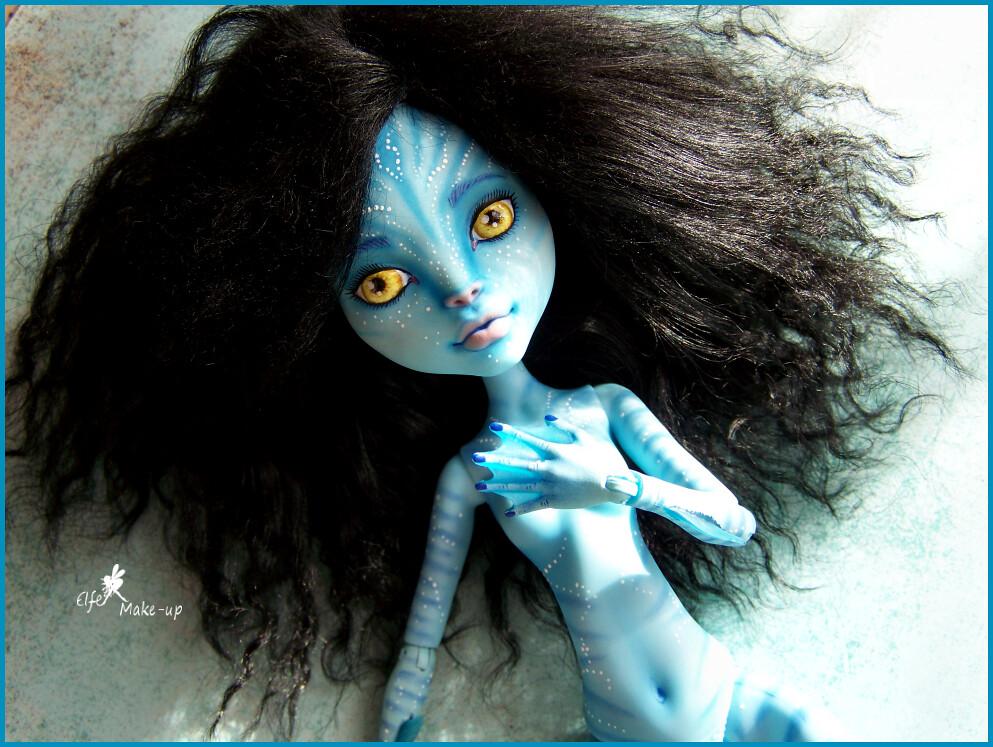 "MH ""Avatar"" full custom commission"