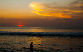Kuta Beach sunset   by Dillan K