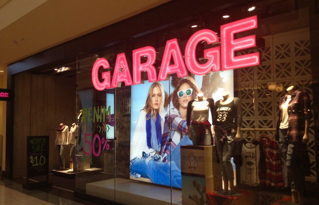 9fea5830107 Garage Clothing Store
