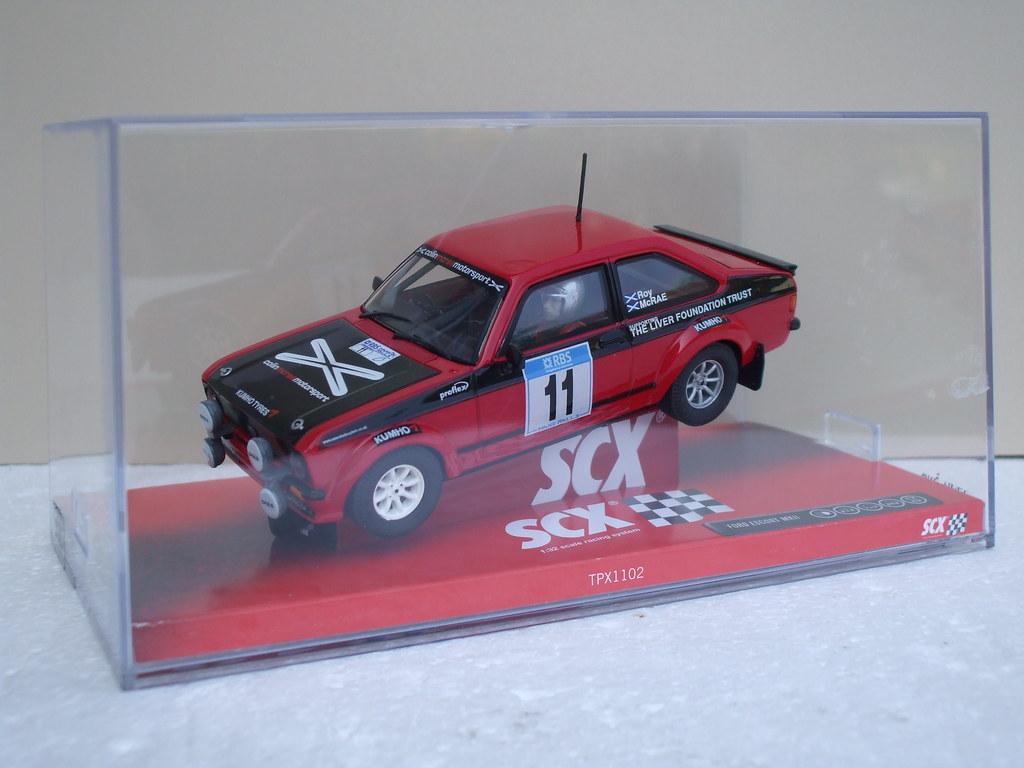 SCX Slot Car Ford Escort MK2 Rally Car | SCX Slot Car Ford E