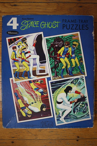 Space Ghost Four Puzzles Box (Whitman 1967) | by Donald Deveau