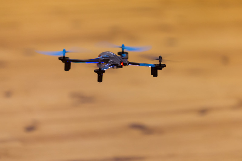 Dromida Ominus Quadcopter on loan from Modellers Corner.