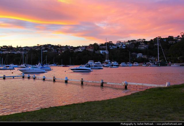 Clontarf @ Sunset, Sydney, Australia