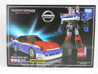 Transformers Smokescreen - Masterpiece - empaque | by mdverde