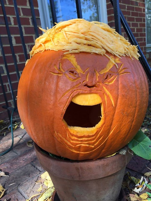 It's the Great Trumpkin Charlie Brown