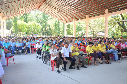 The annual Senior Citizens Congress, held in the newly rehabilitated San Remegio Civic Center | by dilg.yolanda