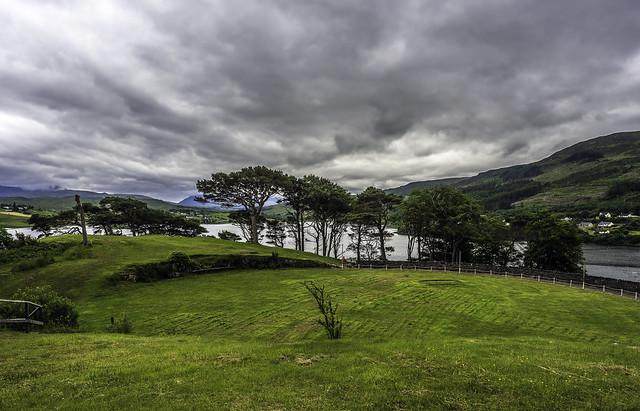 Skye Highland game site