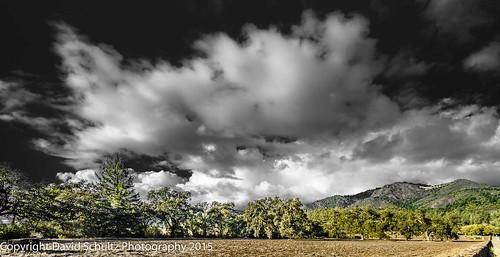 landscape blackandwhiteandcolor 11082015 clouds d810 nikon santarosaca sky fx davidschultzphotographycom davidschultzphotography