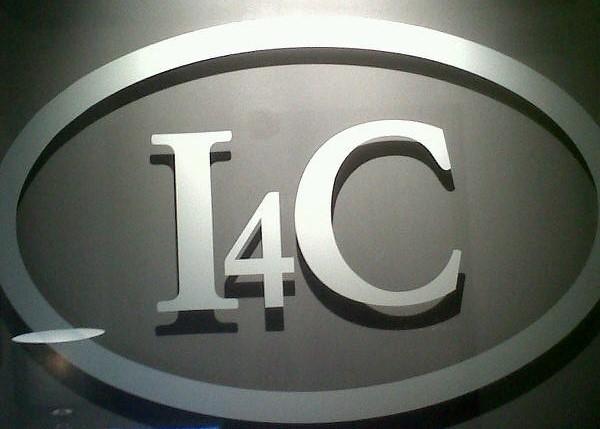 Corporate logo glass or plexi