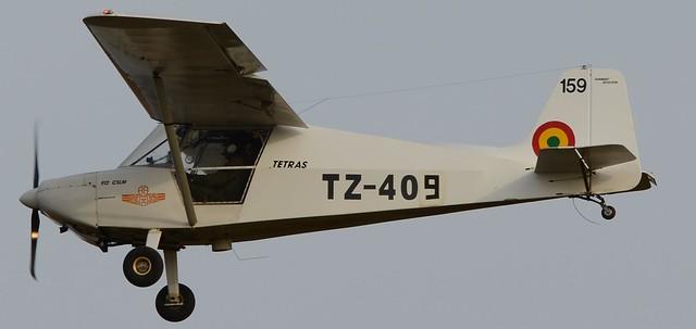 TETRAS-912CSLM TZ-409 c/n 159. Mali Air Force. Armée de l'Air du Mali. Bamako-Sénou, October 2014.