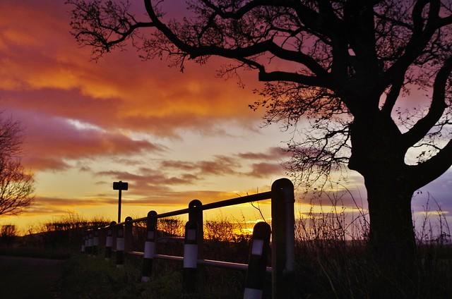 Roadside sunrise (Explored 05-12-15)