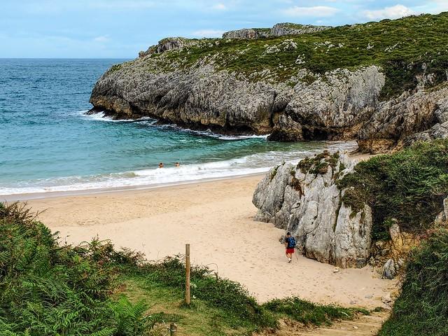 Playa de San Antonio. Asturias