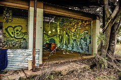 Graffiti: Gunn Point Prison Farm