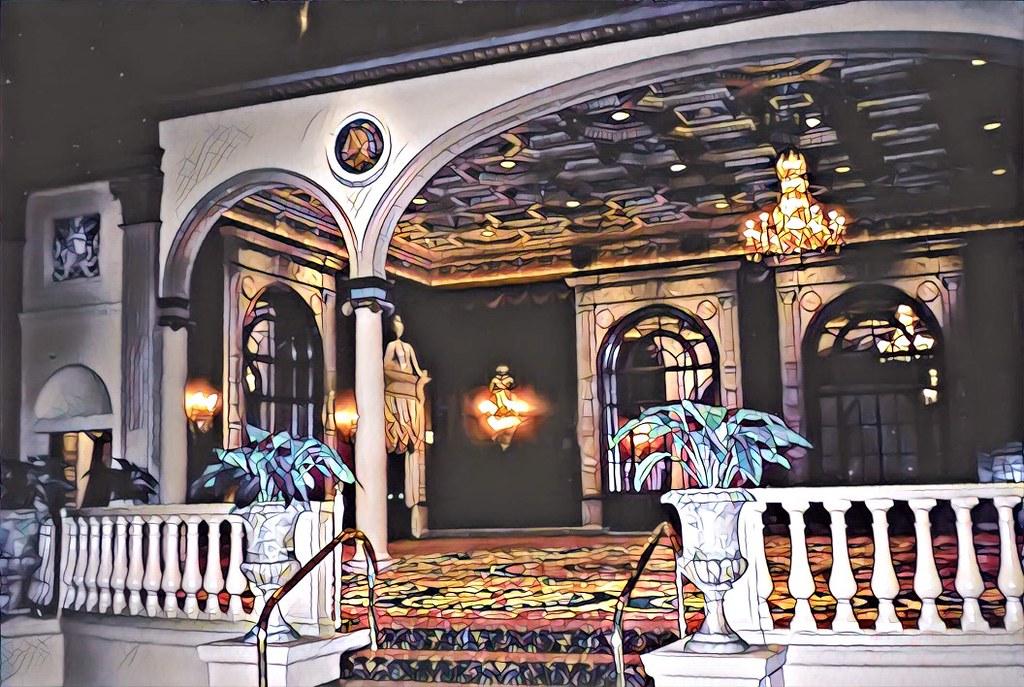 Los Angeles California Millennium Biltmore Hotel Entra Flickr