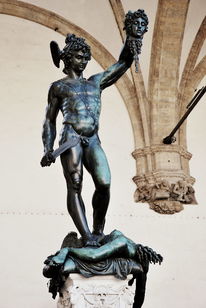 Perseus With The Head Of Medusa The Perseus With The Head