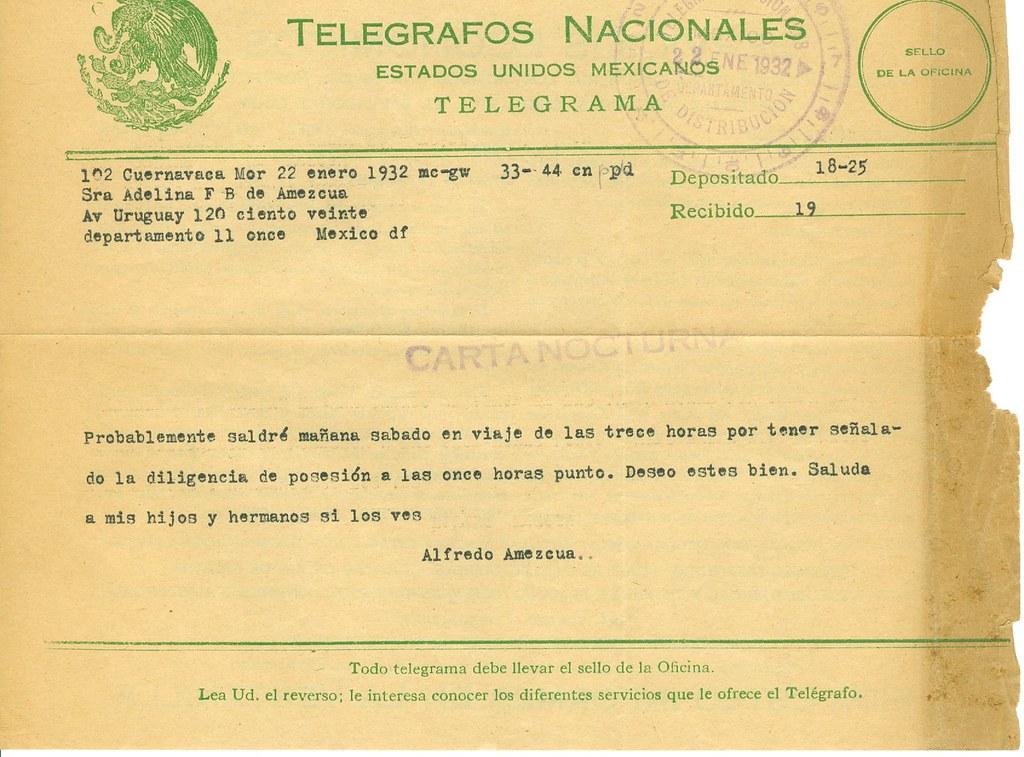 Telegrama de dating site)