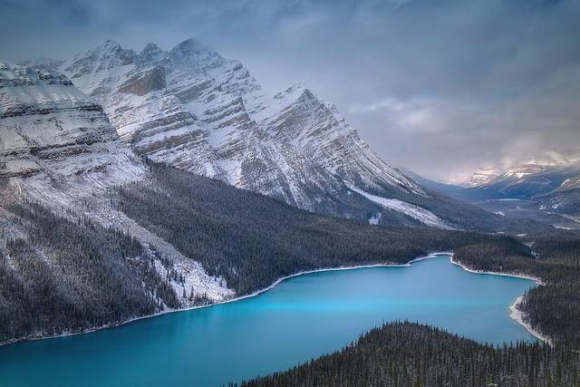 Peyto Lake, Alberta, Canda