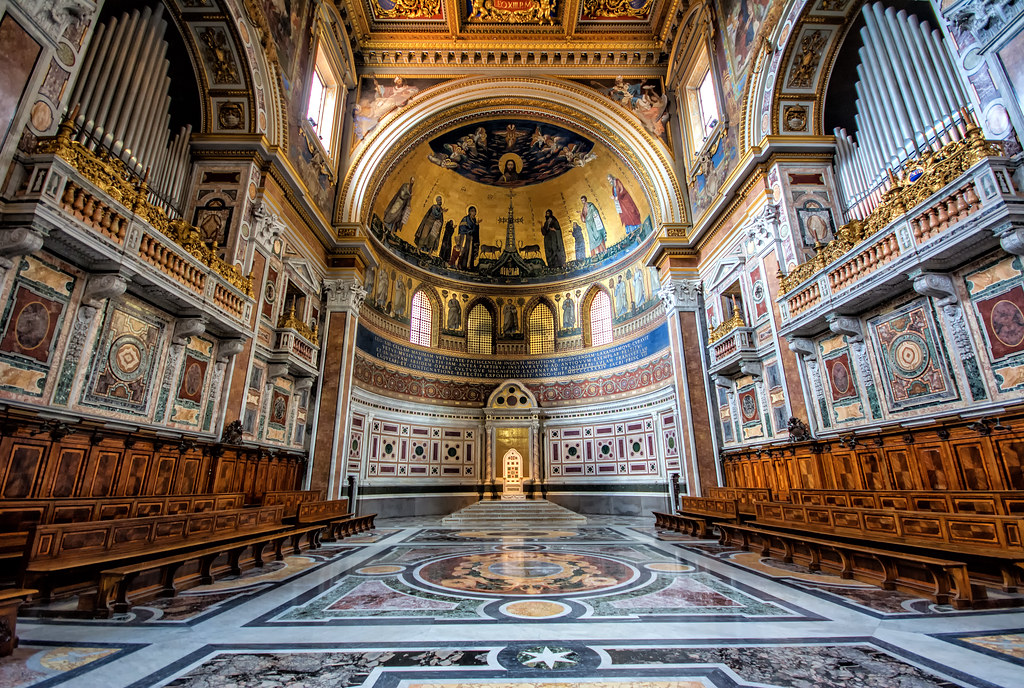 St. John the Lateran Apse - Papal Chair