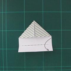 วิธีทำหรีดห้อยหน้าประตูสำหรับวันคริสต์มาส (Christmas wreath origami and papercraft) 008