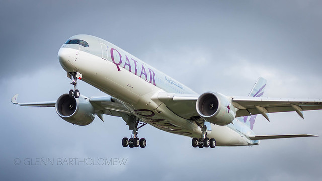 A7-ALA. Airbus A350-941, QATAR Airways, LHR/EGLL II
