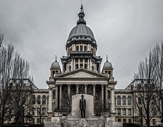 Illinois State Capitol Building, Springfield   by jwayne810