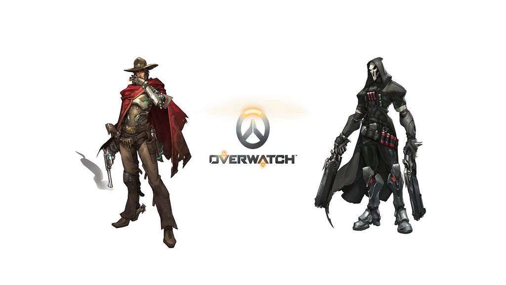 Mccree And Reaper Overwatch Heroes Hd Wallpaper Download M