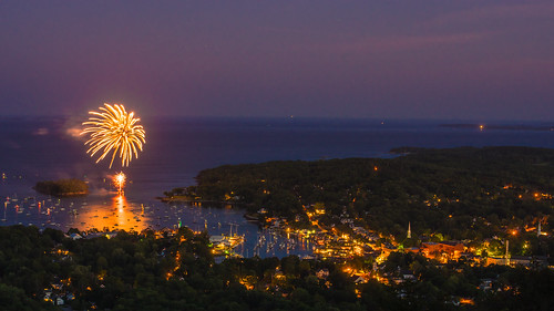 Independence Day from Mount Battie; Camden Hills State Park, Camden, Maine | by Jody Roberts
