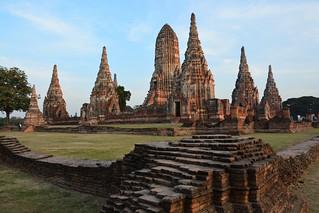 Wat Chai Wattanaram (Ayutthaya, Thailand 2014)