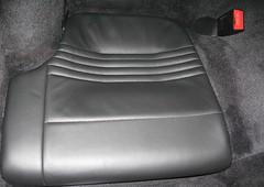Banqueta Trasera 911 Turbo. Despues