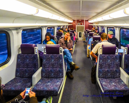 The Upper Deck of one Sounder North Car Nearing Everett...