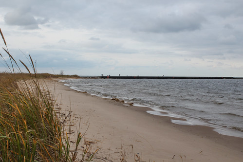 autumn fall michigan shoreline lakemichigan manistee oct30 2014