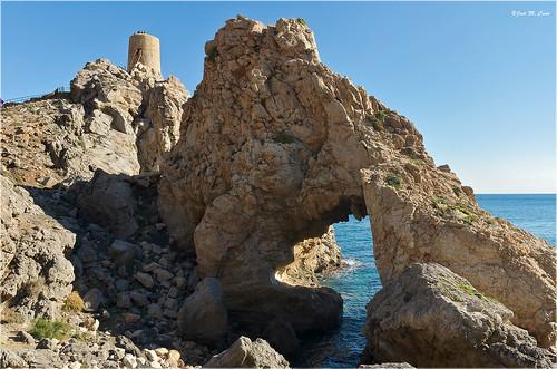 españa costa landscape mar spain torre playa paisaje castillo almería atalaya mojácar torredelpirulico nikond5100