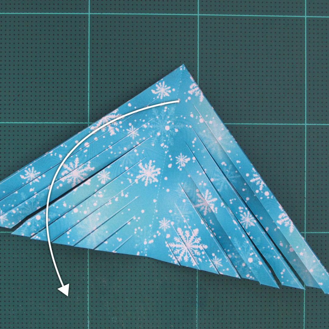 วิธีทำดาวกระดาษรุปเกล็ดหิมะ สำหรับแต่งบ้าน ช่วงเทศกาลต่างๆ (Paper Snowflake DIY) 005